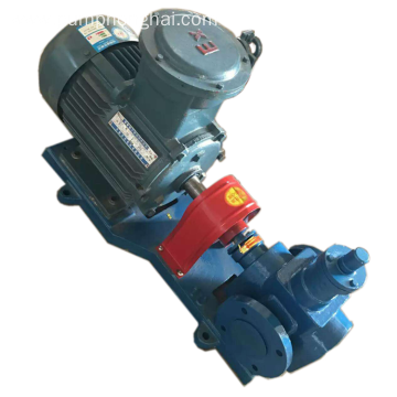 YCB crude lube oil suction transfer gear pumps
